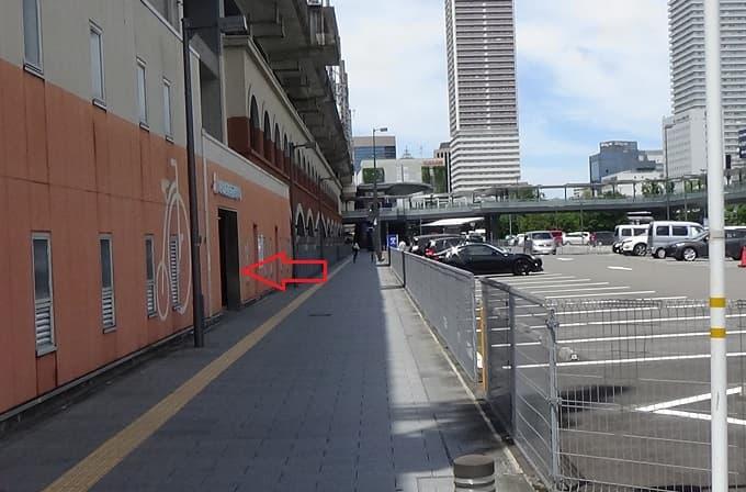 岐阜駅東自転車駐車場の写真
