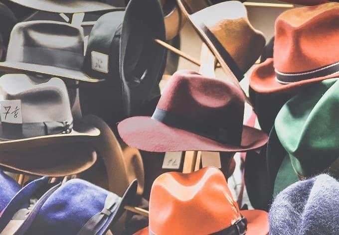 帽子屋をイメージしたアイキャッチ画像