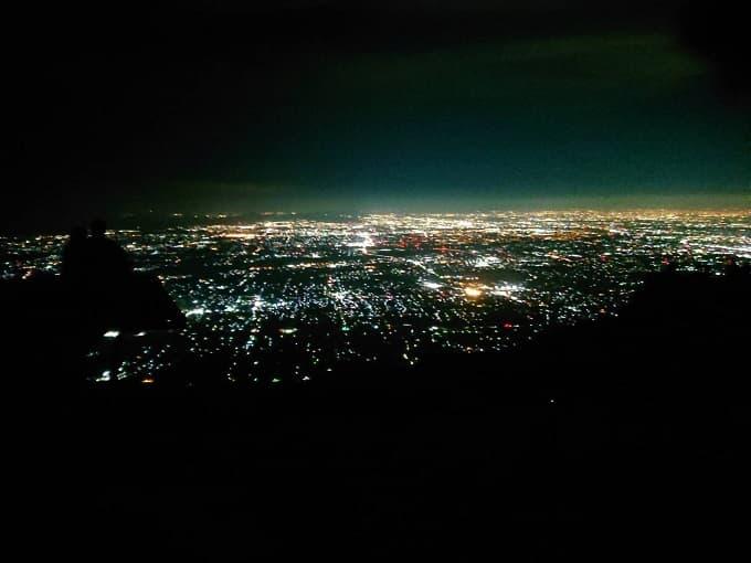 池田山の夜景の写真