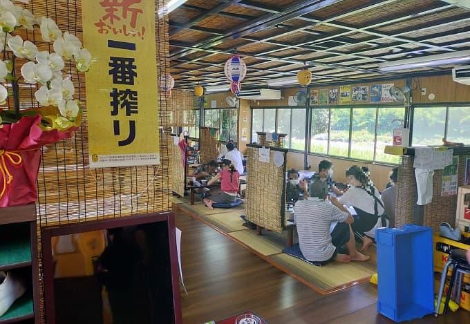 揖斐川町のやなの店内の写真