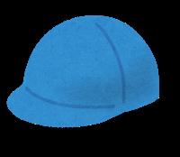 青帽子のイラスト