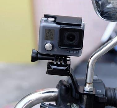 GoProとマウントの画像
