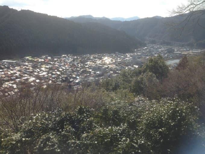 郡上八幡城からの展望の写真