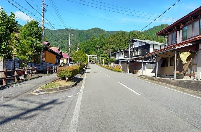 高山エリアにある気多若宮神社周辺の写真