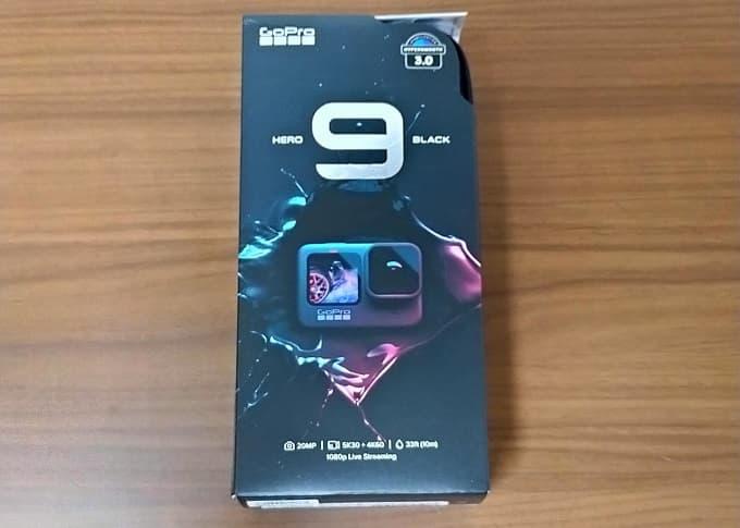 GoPro HERO9 Blackのパッケージ写真