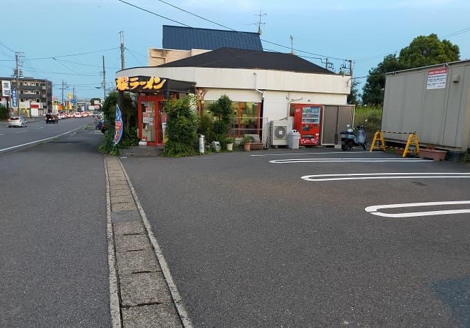 岐阜の老舗ラーメン店「桜ラーメン」の外観写真