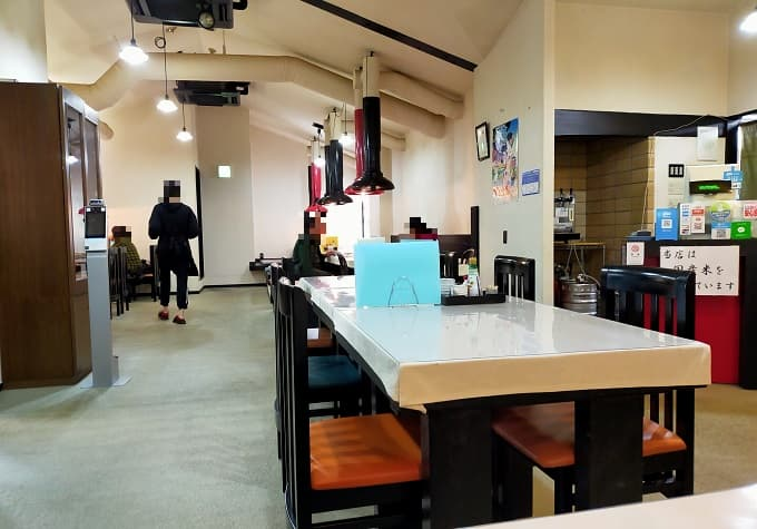 下呂「宴蔵」の店内写真
