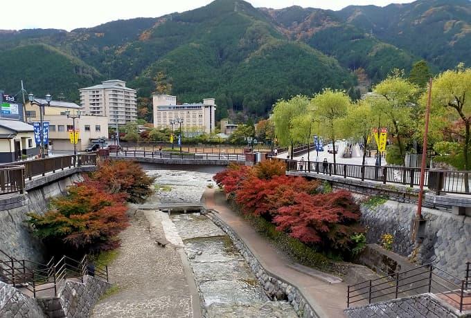 岐阜のツーリングスポット「下呂温泉」の写真