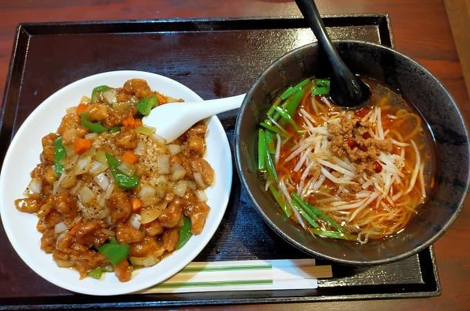 郡上八幡ツーリングにおすすめの中華料理店「郡華園」の料理写真