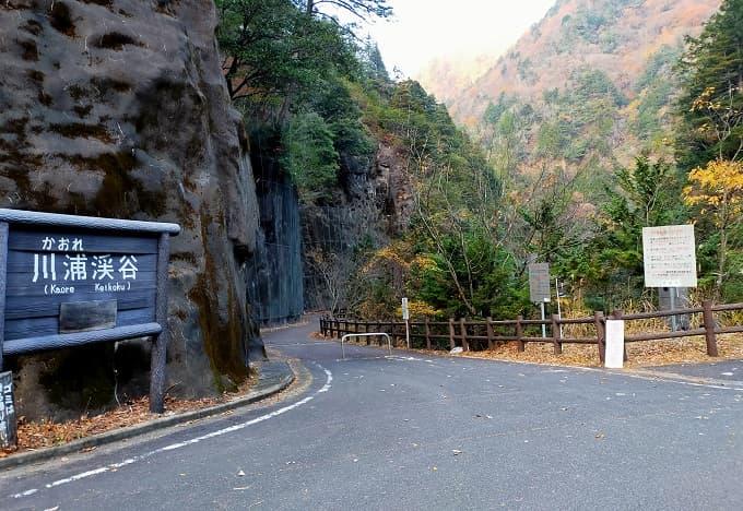 川浦渓谷の写真