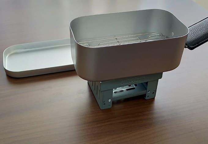 おすすめのMilicamp製メスティンセットを組み立てた写真