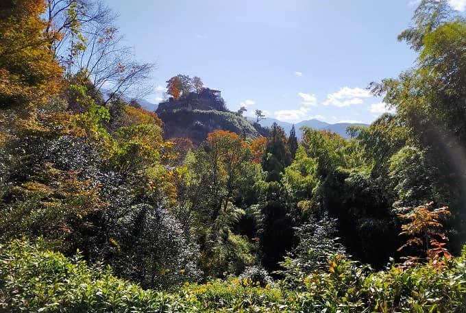 苗木城の風景写真