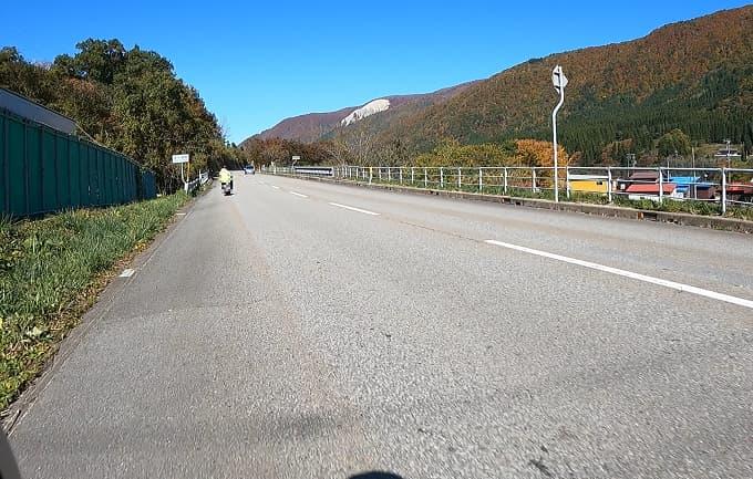 国道156号線の写真