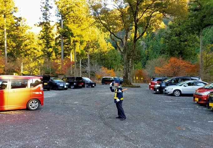 多良峡の駐車場写真