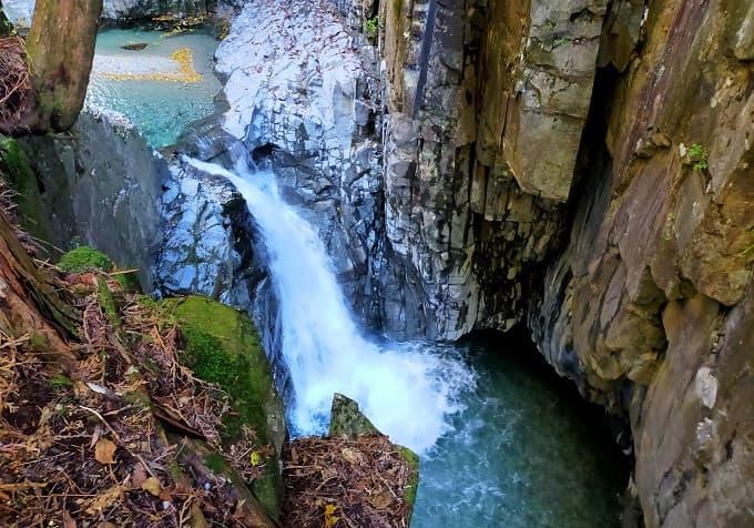 不動滝の写真