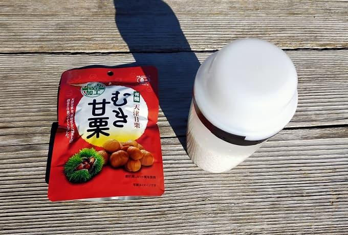 栗ご飯の具材写真